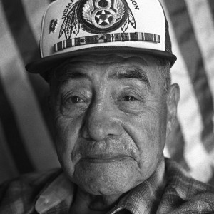 Image of Native american Veteran