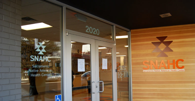 Front entrance SNAHC