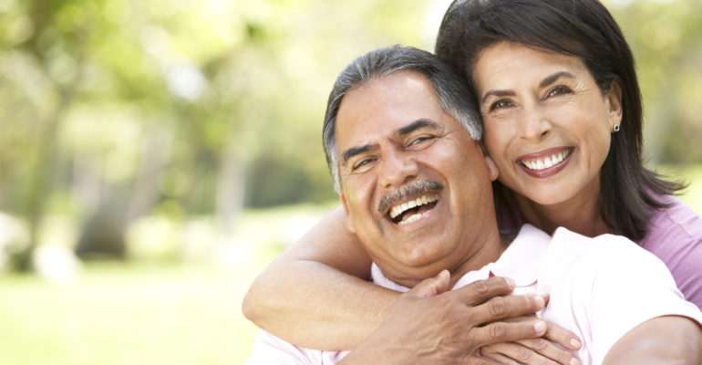 Older Hispanic Couple