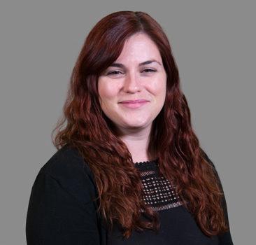 a headshot of Sara Rotella, LCSW