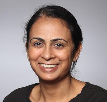 a headshot of Satkar Kaur