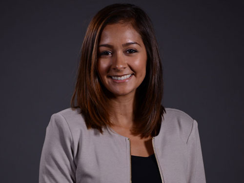 a headshot of Vanessa Cuevas-Romero